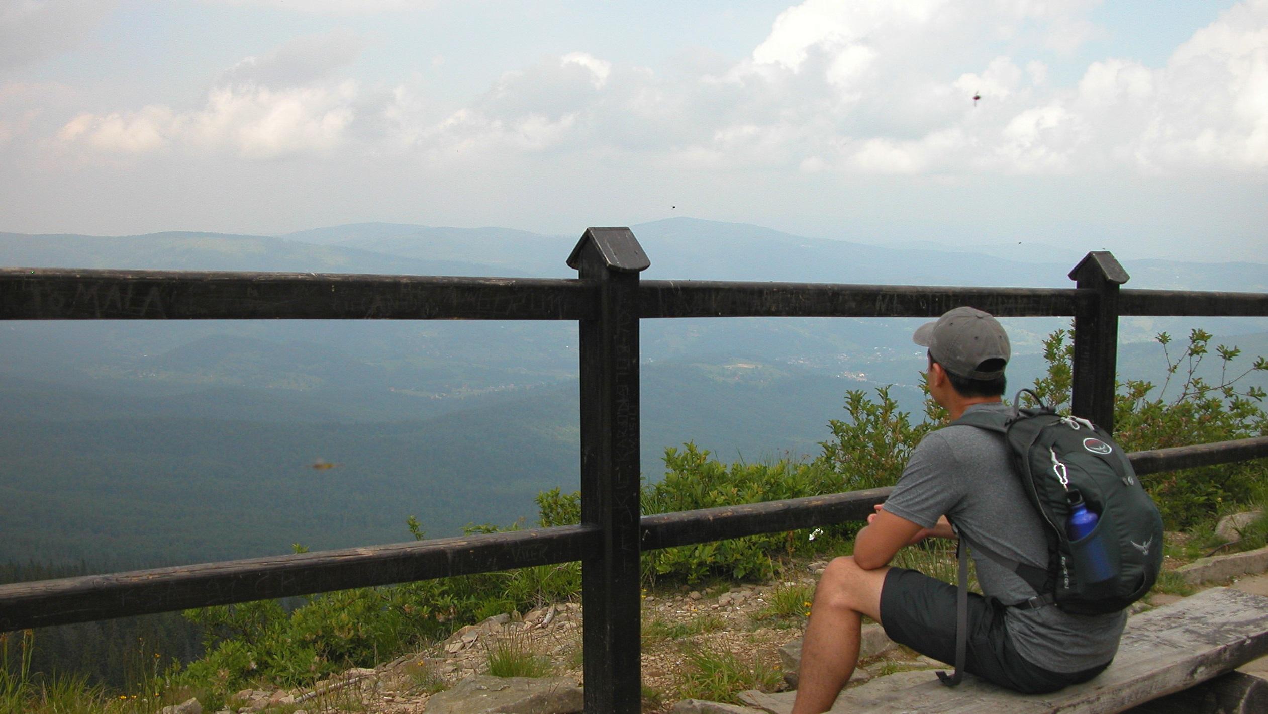 Descending Babia Gora