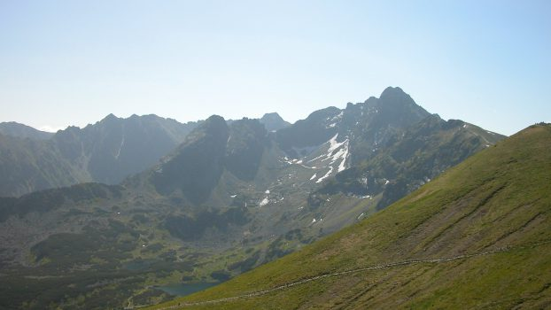 View from the top of Kasprowy Wierch
